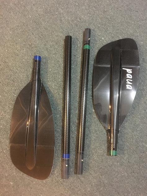 Paua 4-Split Packraft Paddle