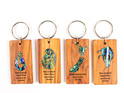 paua key rings group