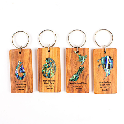 Key Rings with Paua