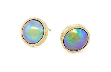 Paua Pearl Earrings