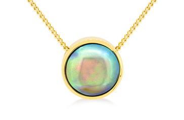 Paua Pearl Necklace