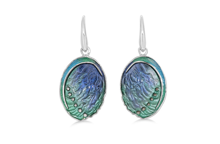 Paua Shell Earrings