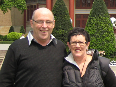 Paul and Robyn Stewart