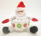 Pavlova Santa - NZ Xmas Tree Decoration