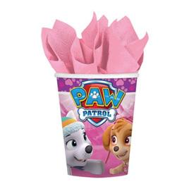 Paw patrol girls cups