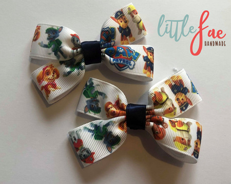 Paw patrol hairbows