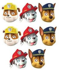 Paw Patrol Masks x 8