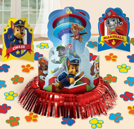 Paw Patrol table centrepiece