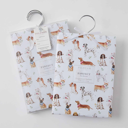 PAWFECT SCENTED HANGING SACHETS 4X60G