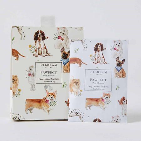 PAWFECT SCENTED MINI SACHETS 4X10G