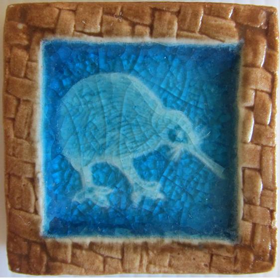 PB03 Memory Tile Blue Kiwi