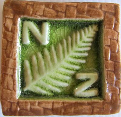 PB04 Memory Tile Green NZ Fern