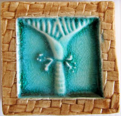 PB08 Memory Tile Blue Nikau