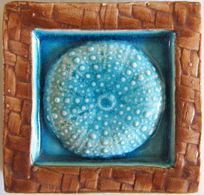 PB10 Memory Tile Blue Kina