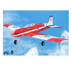 PC 9 Roulette EP, span 1260mm, by Seagull Models