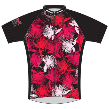 PCBC Cycle Jersey - Floral