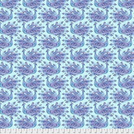 Peacock Paradise - PWCH011 Indigo