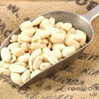 Peanuts Whole Blanched Organic Approx 100g