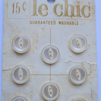 Original card from Le Chic