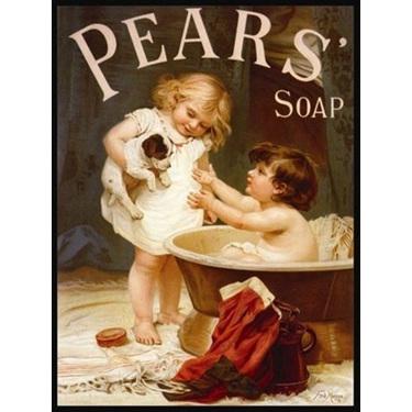 Pears replica retro tin sign
