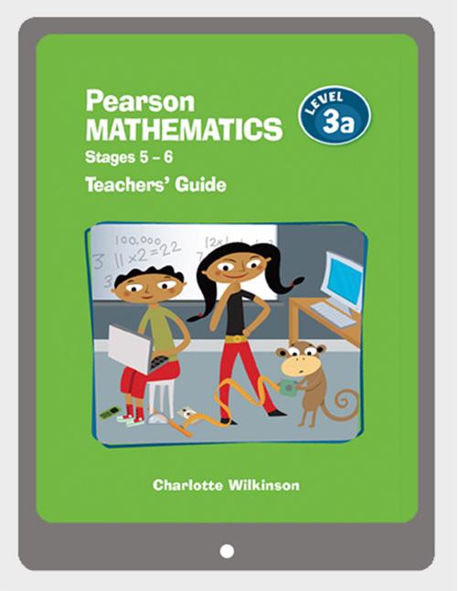 Pearson Mathematics 3a Teachers' Guide eBook - buy online from Edify