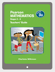 Pearson Mathematics 3a Teachers' Guide VitalSource eBook