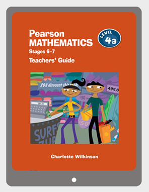Pearson Mathematics 4a Teachers' Guide eBook - buy online from Edify