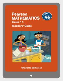Pearson Mathematics 4b Teachers' Guide eBook