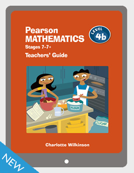 Pearson Mathematics 4b Teachers' Guide VitalSource eBook