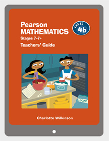 Pearson Mathematics 4b Teachers' Guide VitalSource eBook