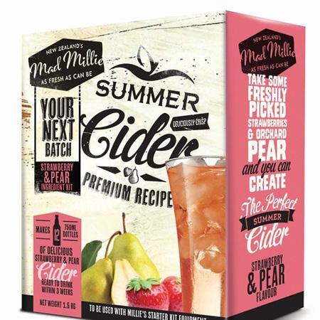 Pear/Strawberry Cider Next Batch Kit
