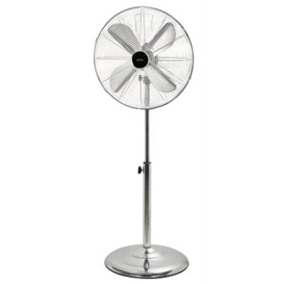 Pedestal Fan 40cm Chrome