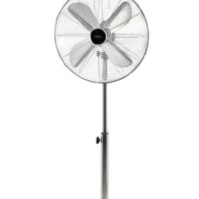 Pedestal Fan 40cm Chrome
