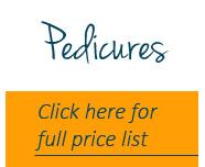 Pedicures price list