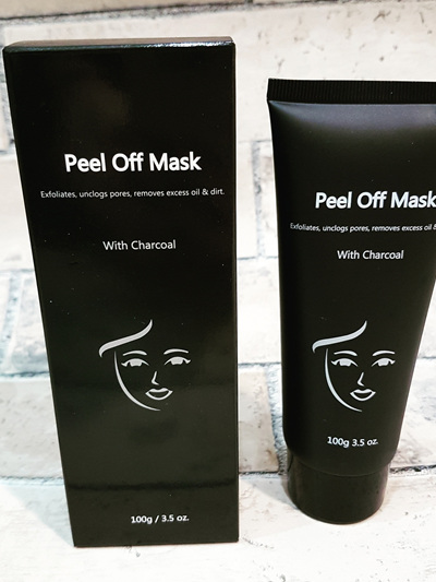 Peel Off Mask with Charcoal 100g Tube