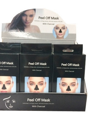 Peel Off Mask with Charcoal - Pack of 10