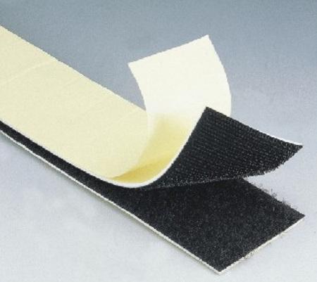 Peel & Stick Adhesive Polyester Hook & Loop Tape 23cm Length