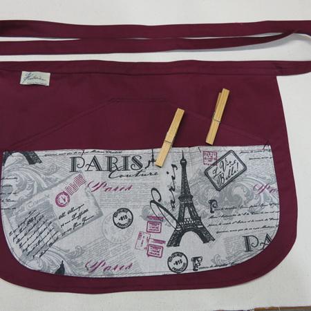 Peg Apron - Paris Design