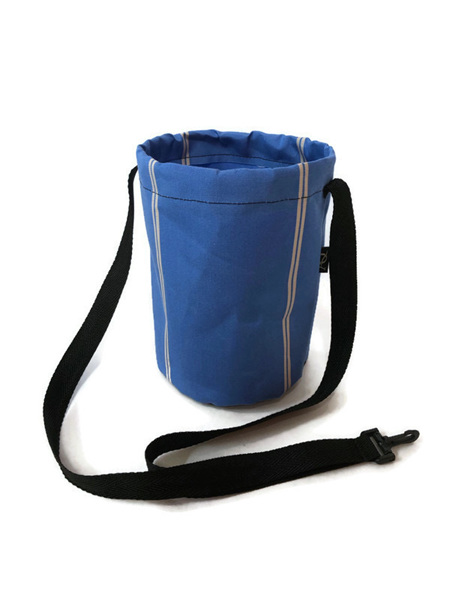 Peg bag - blue striped