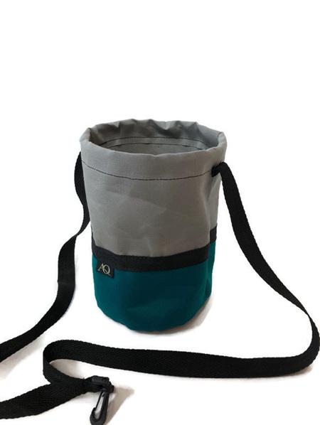 Peg bag - grey/green