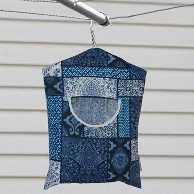 peg pouch | blue myriad