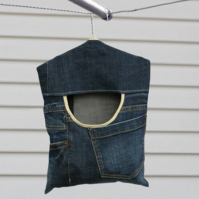 peg pouch | denim original