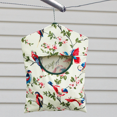 peg pouch | pretty swallows