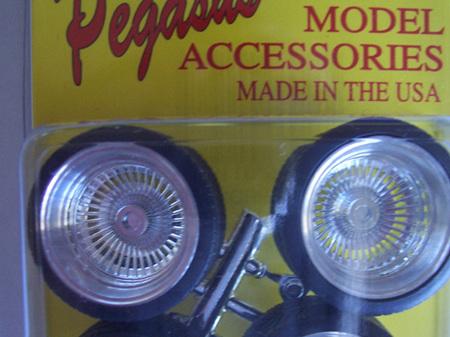 Pegasus 1198 Chrome Wide D's