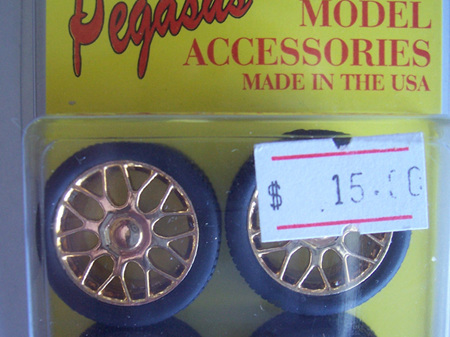 Pegasus 1236 Beemers With Tires Gold