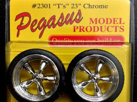 Pegasus 2301 Chrome T's 23""