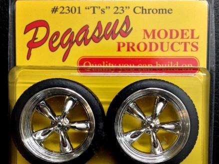 """Pegasus 2301 Chrome T's 23"""""""