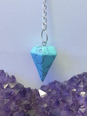 Pendulum Blue Howlite