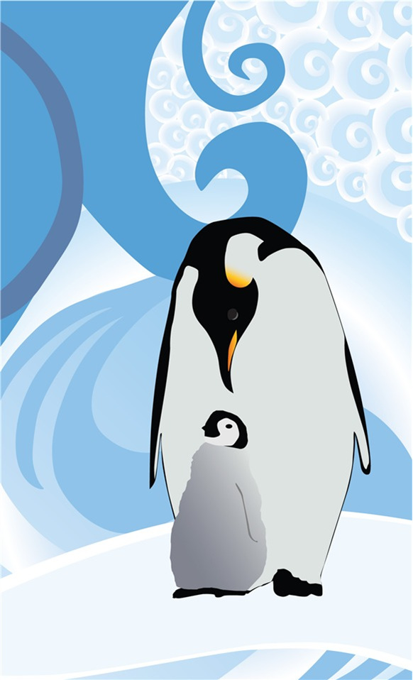 Penguin Paradise Cards