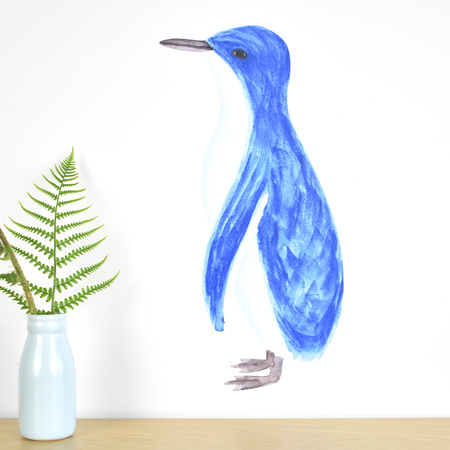 Penguin wall decal